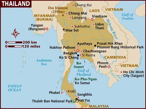 Koh Chang Thailand Map.Thailand Eilanden Koh Samui Koh Tao Koh Samet Phuket Koh Phi Phi